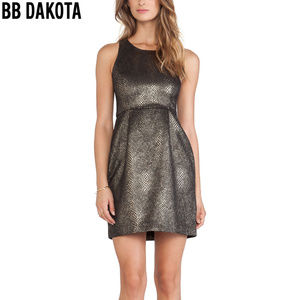 BB Dakota - 'Lizanne' Dress (BRONZE/BLACK)